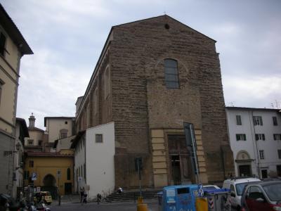 ルネッサンス美術が鑑賞できるサンタ・マリア・デル・カルミネ教会
