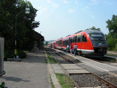 ブダペストからエステルゴムへ快適列車で移動