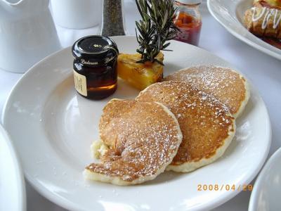 立地・景色最高でも朝食が・・・
