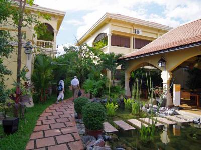 Pavillon d'Orientは居心地の良いブティックホテル