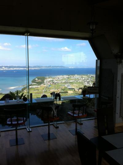 中城湾を一望できる南城市のカフェ