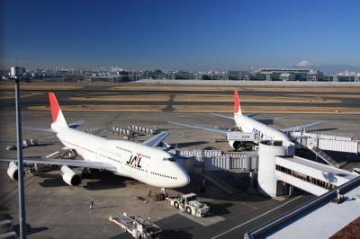 ○ 展望台で飛行機を見よう 「羽田空港」