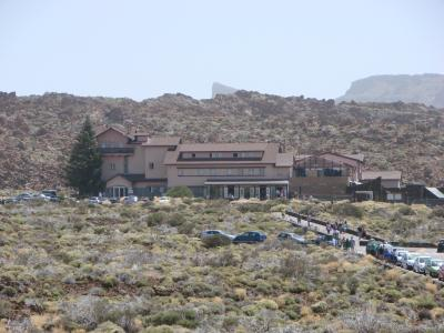 テイデ国立公園内にある唯一の宿泊施設