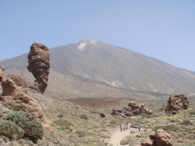 スペイン最高峰 テイデ山