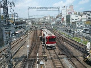 近鉄電車を見るなら、大和西大寺駅