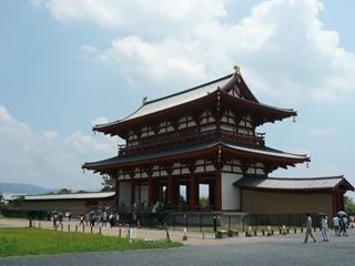 大きな門、「朱雀門」