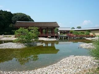 静か過ぎる庭園 平城宮 東院庭園