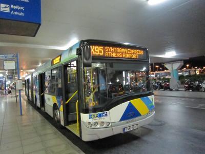 便利なバス。値上げしてたけど。