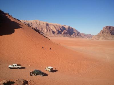 砂漠の絶景と満天の星空