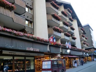 スイス!って感じの可愛いホテル