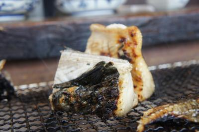 おいしい季節のお魚を七輪焼きで☆カネマスの七輪焼き