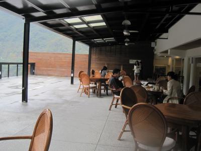 レストランの屋外部分