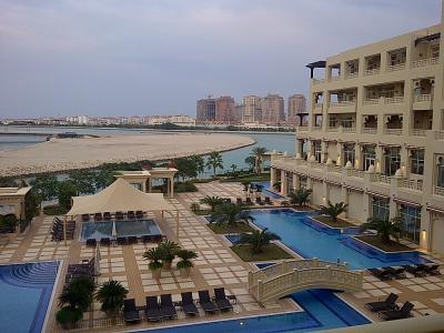 ホテルの部屋からの眺望です。