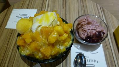 BIGなマンゴーかき氷
