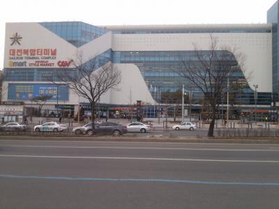 ソウルから高速バスに乗って、終着点がここ
