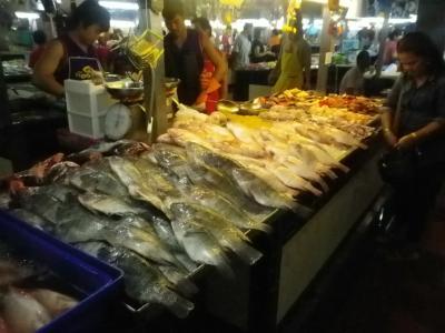 新鮮な食材が手に入る市場