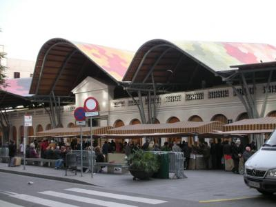 ラ・ボケリアのライバル的存在の市場
