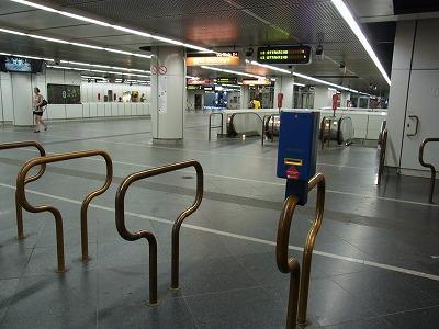 何処へ行くにも便利な地下鉄