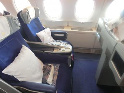 ルフトハンザ航空ビジネスクラスでスイスロングステイ21日に行った