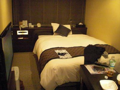 部屋も綺麗、ベッドもいい