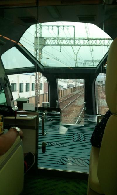 新幹線グリーン車より快適な豪華特急