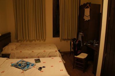 部屋は広い。しかもシャワーが独立しています。