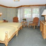 広くて快適な部屋