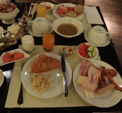 朝食です。ビュフエスタイル