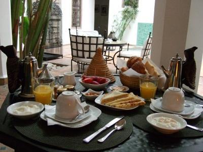シンプルながらクオリティの高い朝食が印象的