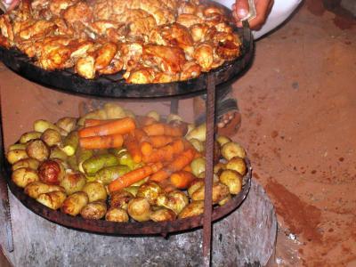 ベドウィン式蒸し焼き料理