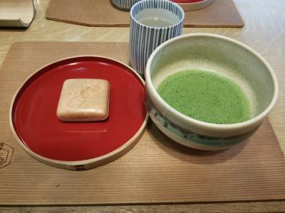 大神神社の後は、抹茶とみむろ