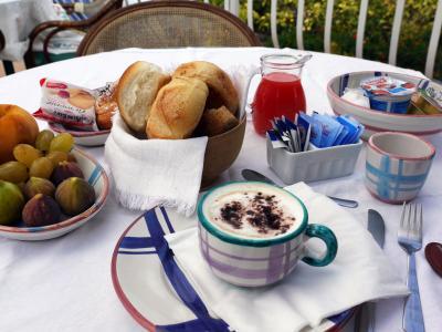 朝食も盛りだくさん