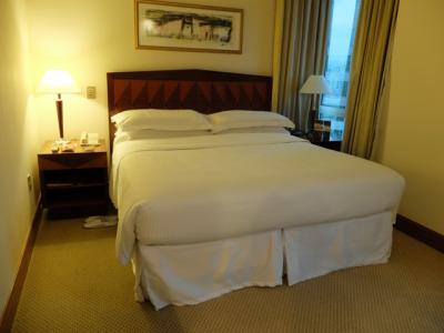スイートのベッドが置いてある部分。