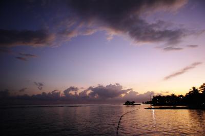 日の出前のお散歩♪
