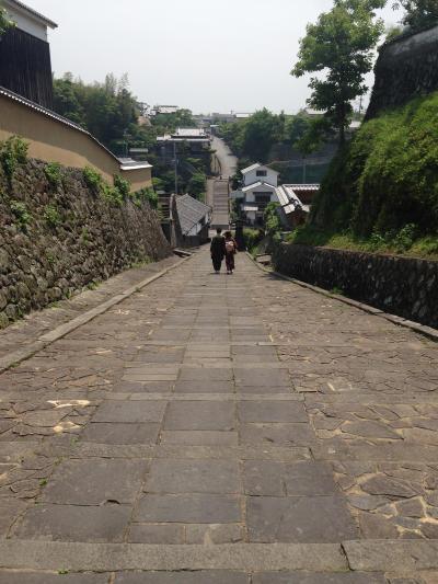 杵築の坂群の中で最も美しい坂