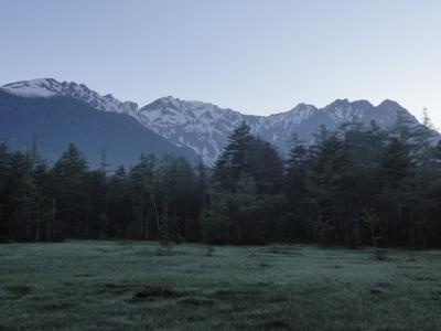 朝霧の湿原は素敵