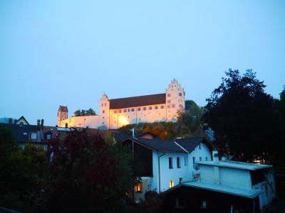 ホーエス城が見えます