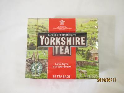 紅茶とソフトミント