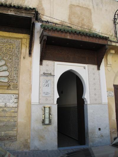 建物の入口。