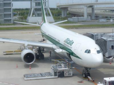 イタリアへは直行便のアリタリア航空!