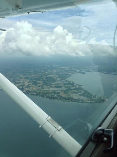 体験フライトでも本格的な操縦が楽しめます