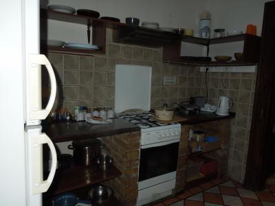 キッチン。今回は使わなかったが、一揃いあるようだった。