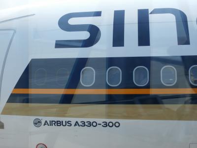 とても快適な空の旅でした(^_-)-☆シンガポール航空