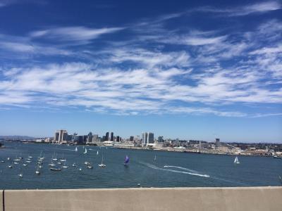 サンディエゴを代表する公園散歩コース