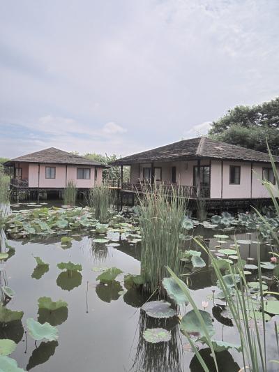 ノース地区の水上ホテル