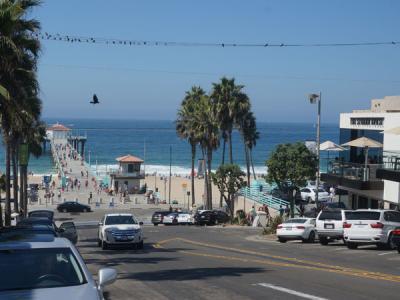 これぞ、カルフォルニアのビーチ