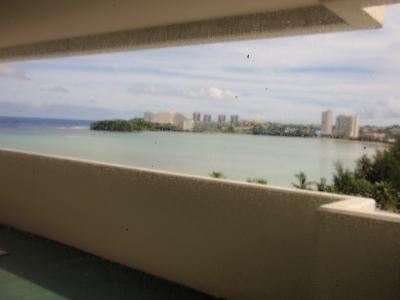 ラナイから海が一望できます
