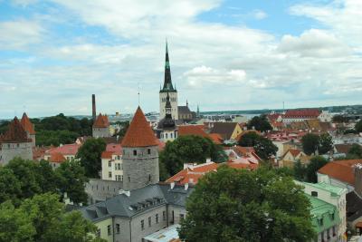 ヨーロッパの旧い街並み