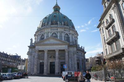 大理石の美しい教会