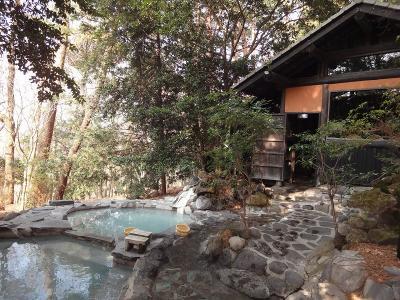 旅行人山荘 露天風呂最高です☆